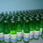 Palm Wine with labels
