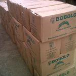 Boxes of Chede Bobolo ready for export