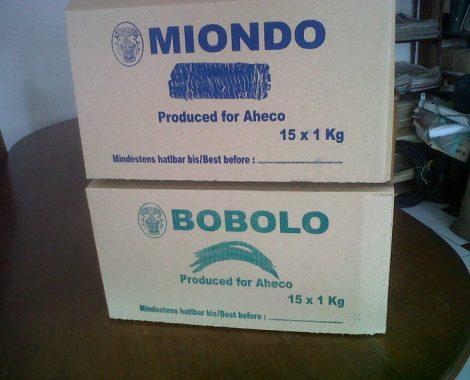 Chede Bobolo and Miondo boxes